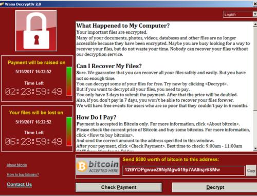 Hablando de ransomware